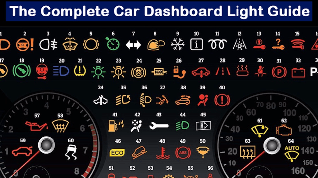 Because You Re Too Embarrassed To Ask Here S What Every Car Dashboard Light Symbol Means Lit Meaning Ford Focus Indicator Lights