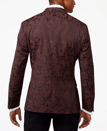 Kenneth Cole REACTION Mens Slim Fit Evening Jacket