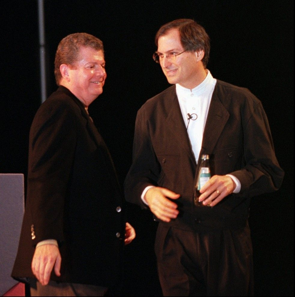 Image result for steve jobs and gil amelio
