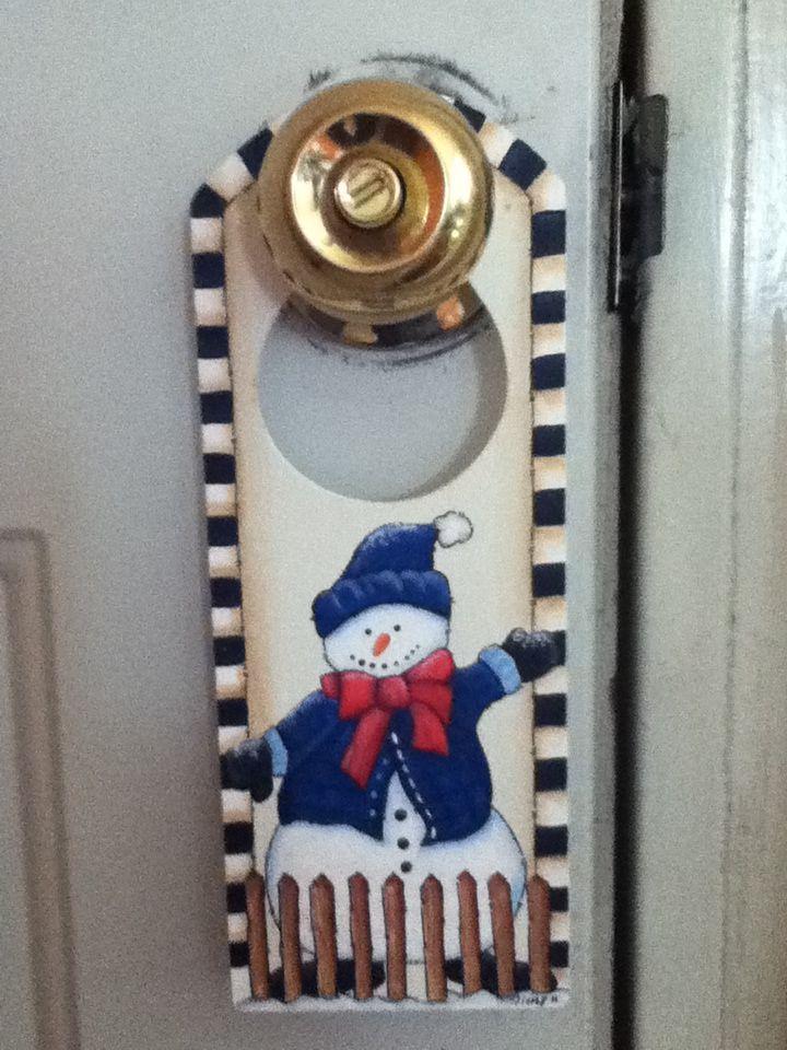 Picaporte mu eco de nieve merry christmas country pinterest navidad nieve y mu eco de - Arreglo de puertas de madera ...