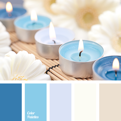 beige, Blue Color Palettes, blue shades, brown, color matching for wardrobe, color of 2015, color solution for design, creamy, hot blue, milk color, milky, palette for winter 2015, sky blue, subdued blue.