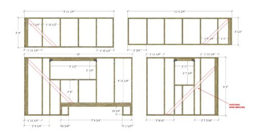 Tiny house on wheels floor plans blueprint for construction tiny our tiny house floor plans construction pdf sketchup the tiny project malvernweather Images