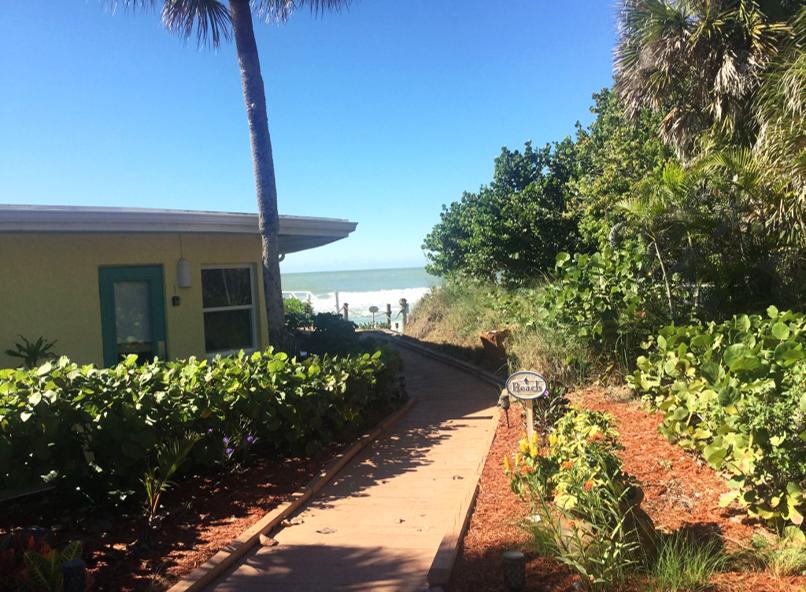 Our path to the beach at the Pearl Beach Inn! | Florida ...