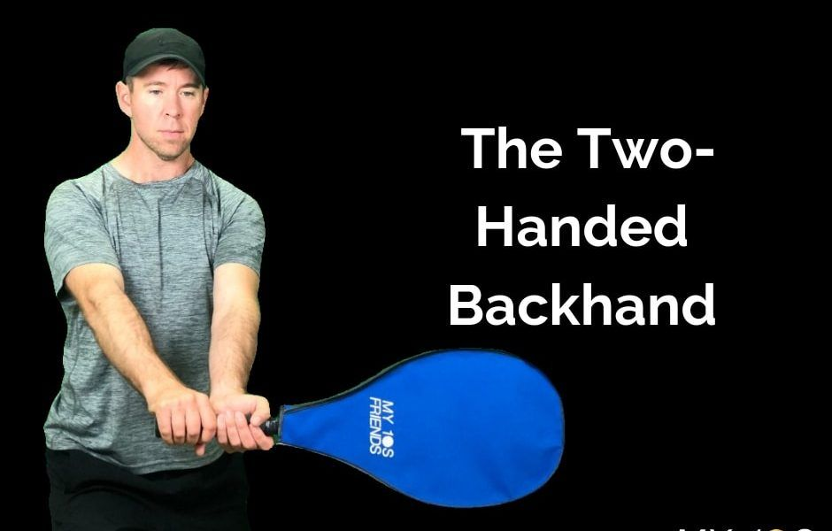 Two Handed Backhand Tennis Grip My10sfriends Tennis Grips Shoulder Muscles Ferris State University