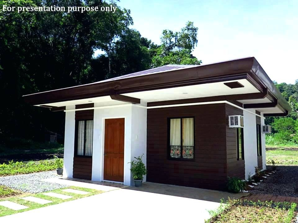 Modern Small House Philippines House Design House Design Pictures House Blueprints