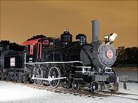 Steam Locomotive 4-4-0