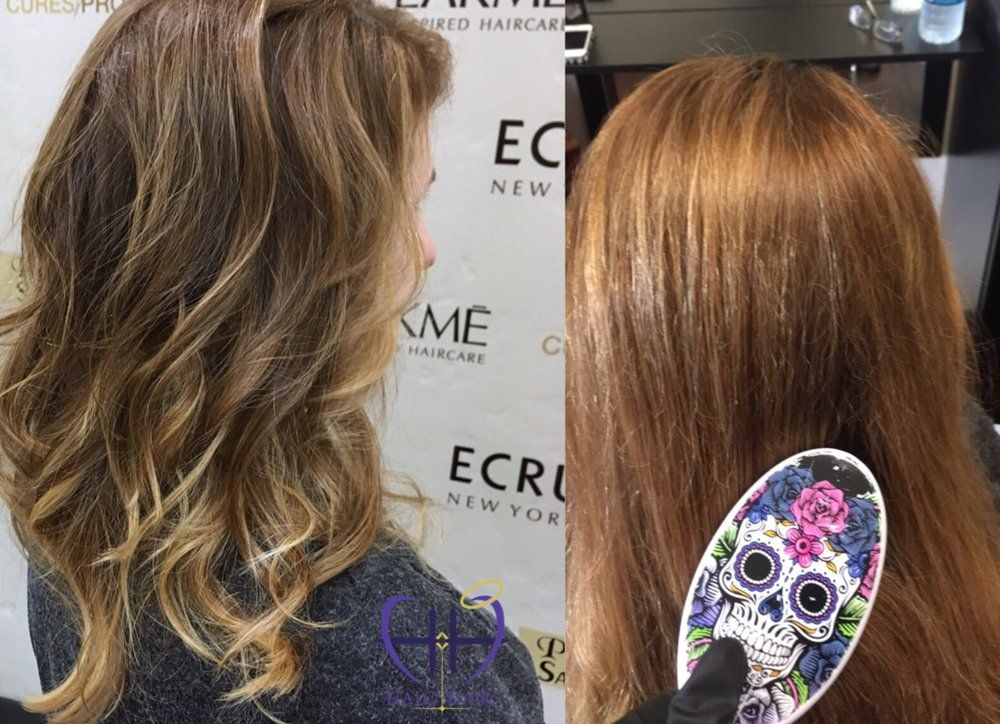 Balayage Transition From Highlights Natural Balayage That Is Low