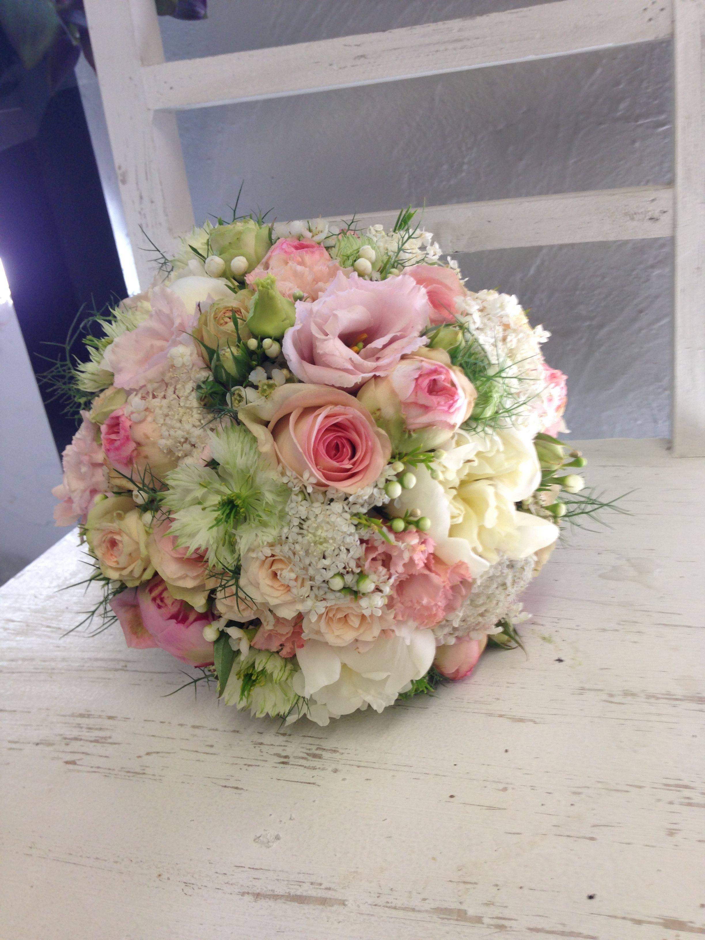 Brautstrau Pastell Vintage  Hochzeiten in 2019