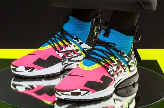 brand new a8b67 7874f Cop The Acronym x Nike Air Presto Mid Cotton Candy (Racer Pink) This Week