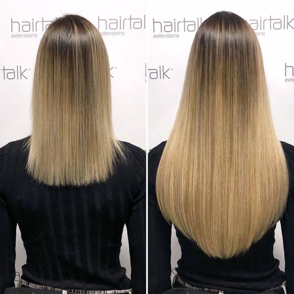 Hair talk extensions plus