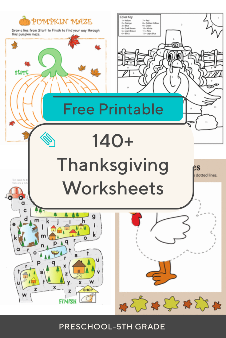 Predownload: Get Ready For Thanksgiving With This Collection Of Printables Great For Kids From Preschool Thanksgiving Worksheets Elementary Activities Thanksgiving Lessons [ 1102 x 735 Pixel ]