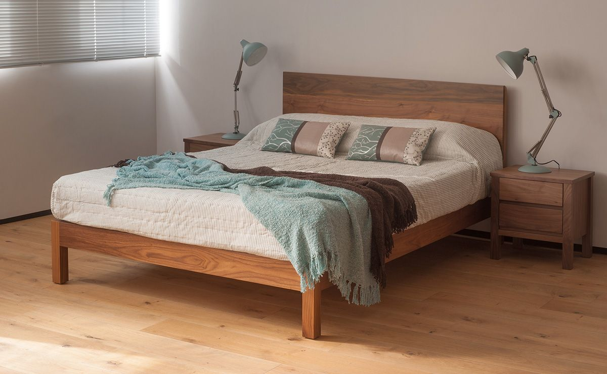 Malabar Contemporary Wooden Bed Wooden bed, Diy sofa bed