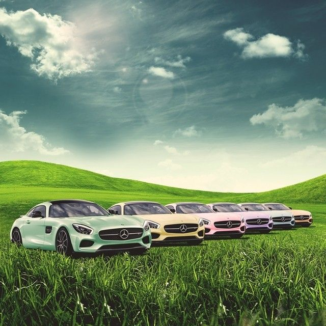 From our #MBfamily to yours, may your Easter be filled with the warmth and colors of spring.  #Mercedes #Benz #AMGGT #AMG #GT  #Easter #EasterEggs #instacar #carsofinstagram #germancars #luxury