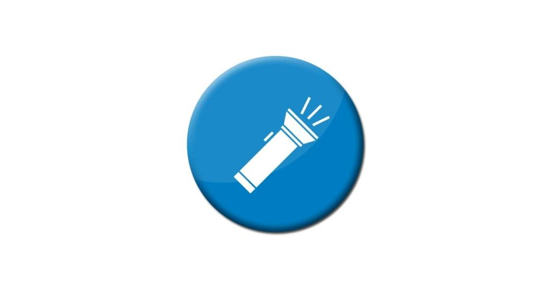 Flashlight Icon Vector And Png Free Download Icon Icon Design Telegram Logo
