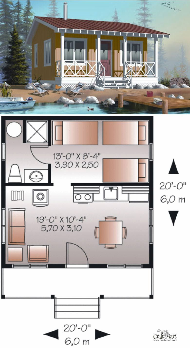 27 Adorable Free Tiny House Floor Plans | Tiny house plans ...