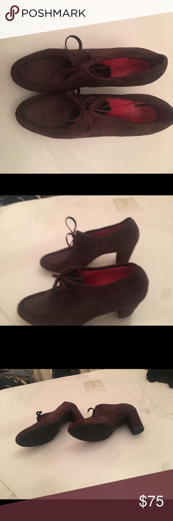 Pas De Rouge Brown Suede Shoes size 11 in 2020 Shoes