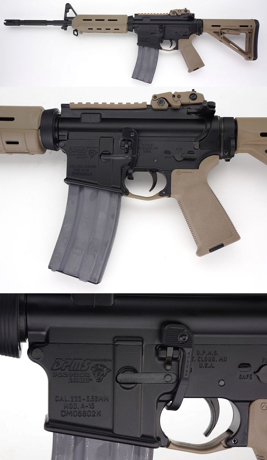 Dpms Ar 15 Magpul Dpms moe warrior ar-15Loading that magazine is a pain! Get your Magazine speedloader today! http://www.amazon.com/shops/raeind