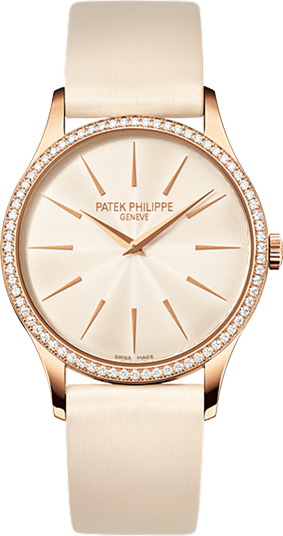 28e7d0f1dd0 4897R-010 Patek Philippe Calatrava Women's 18K Rose Gold Watch |  WatchesOnNet.com