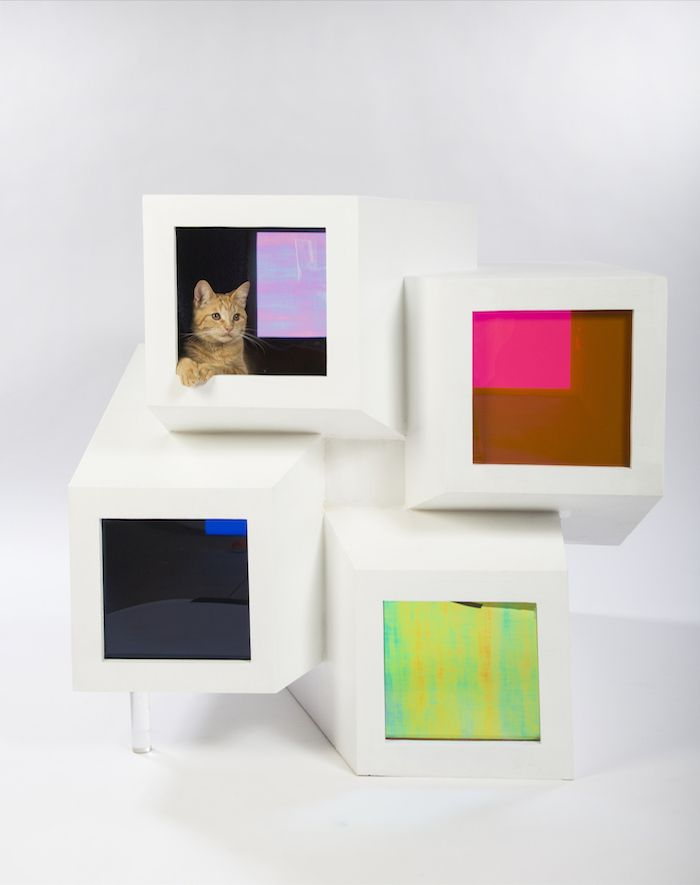 A group of LA architects have created 12 amazing design concepts to raise awareness & funds for the city's millions of stray cats http://www.styletails.com/2016/04/05/12-amazing-cat-houses-you-have-to-see-to-believe/