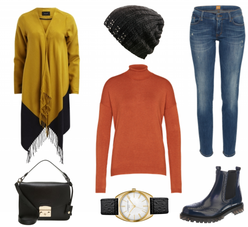 #Herbstoutfit Colour ♥ #outfit #Damenoutfit #outfitdestages #dresslove