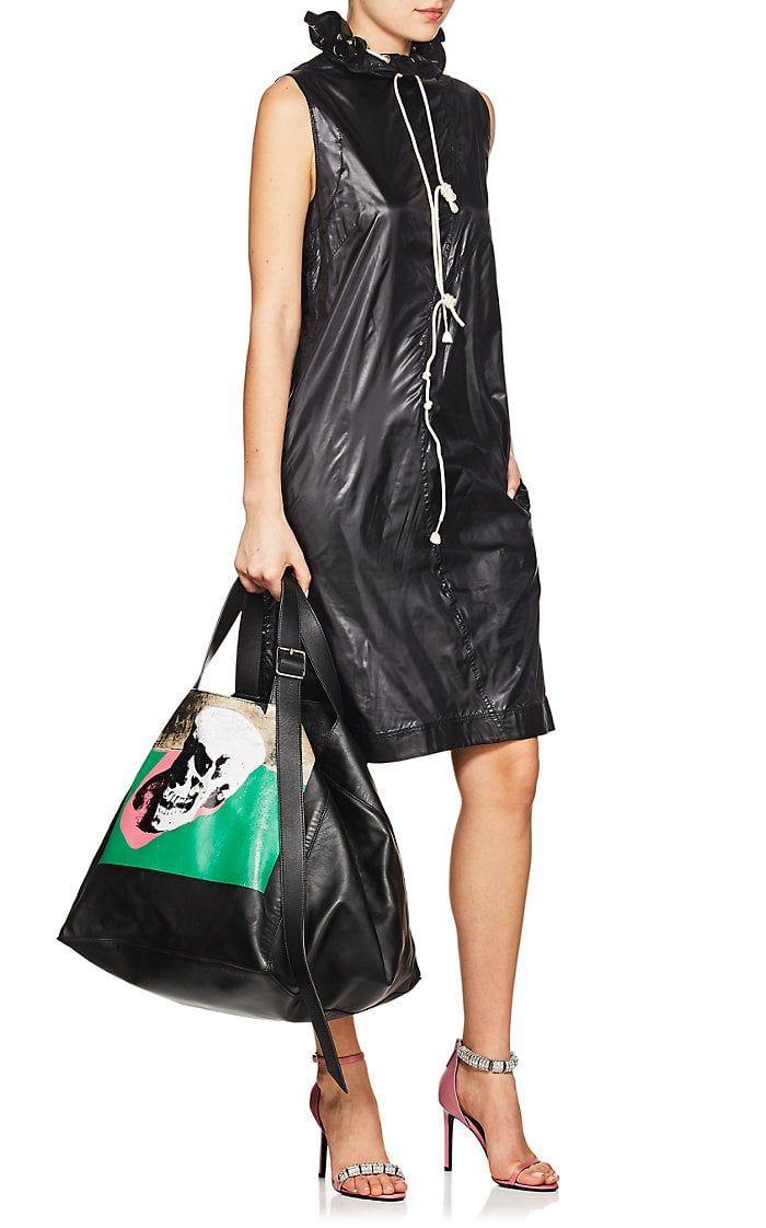 Womens Tech-Fabric Shift Dress CALVIN KLEIN 205W39NYC Ze671L