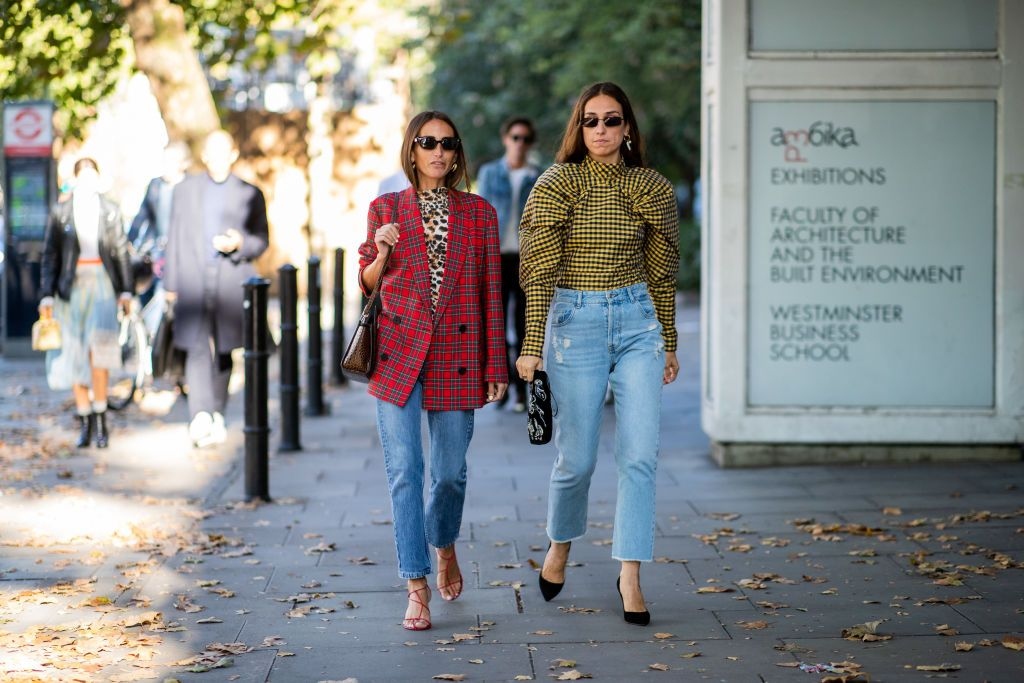 82efad014cd Chloe Harrouche  Erika Boldrin seen outside Nicholas Kirkwood during ...