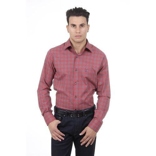 Checked 38 IT - 15 US Versace 19.69 Abbigliamento Sportivo Srl Milano Italia Fit Modern Classic Shirt 377 ART. 030
