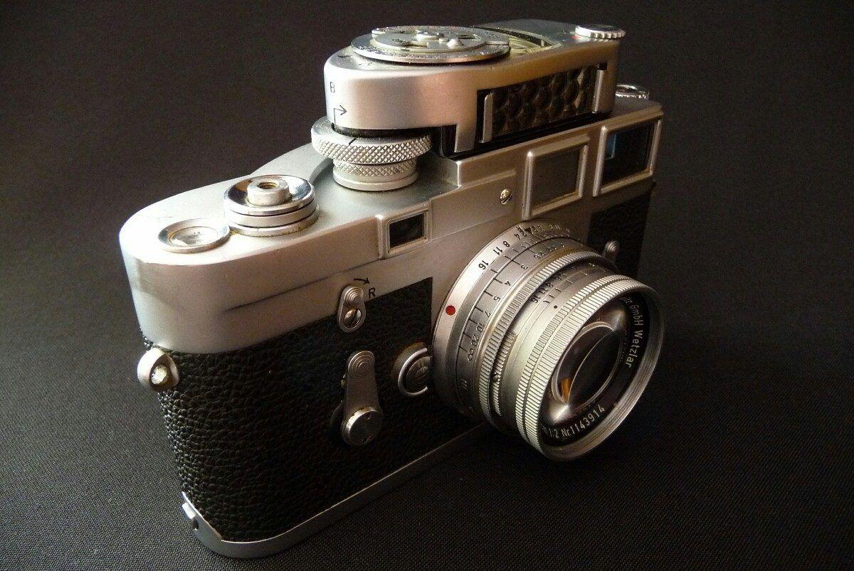 Camara Leica M3 Con Lente Summicron (equipo Impecable)