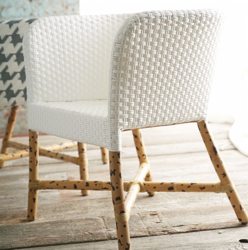 Obsessed With This Rattan Chair Paola Navone For Crate And Barrel