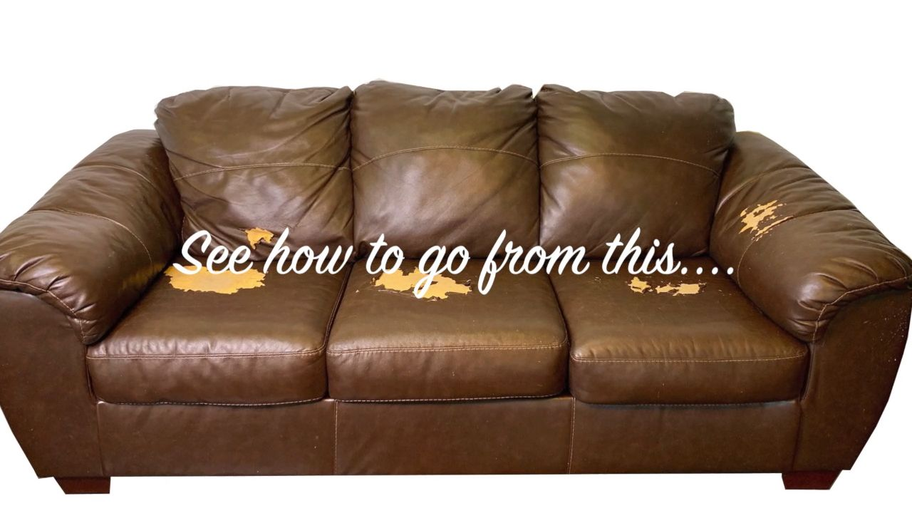 Leather Sofa Repair Near Me How To Repair Restore Recolor Dye Leather Vinyl And Bonded