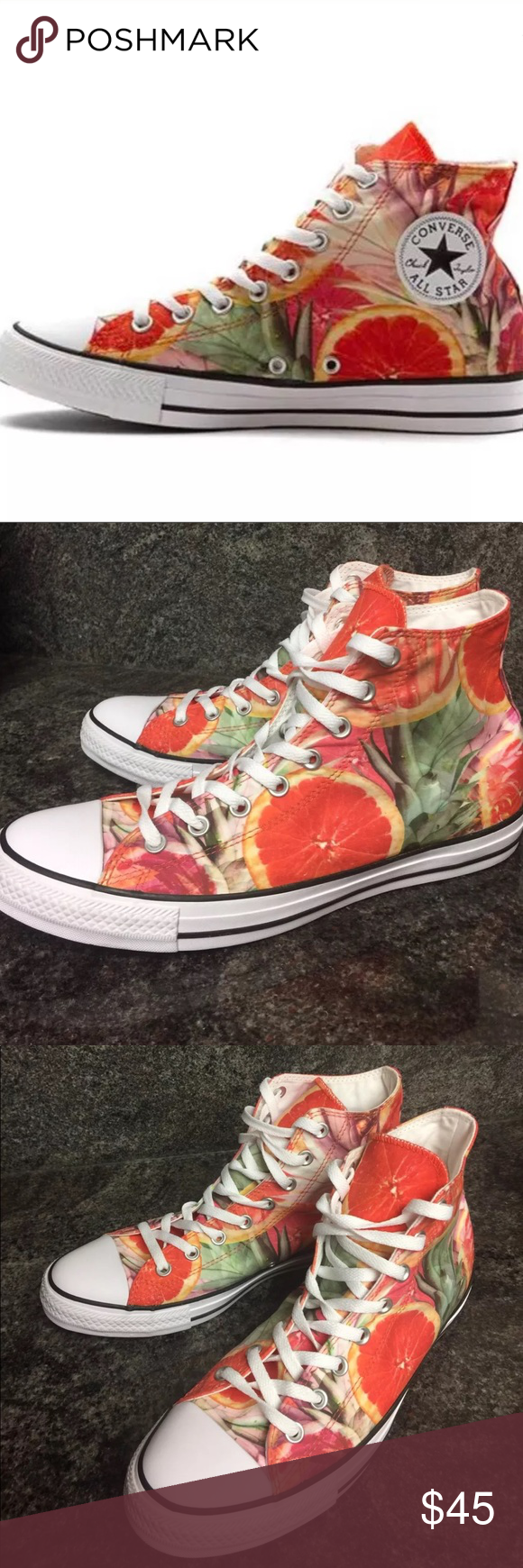 c131528c7047fc New Converse All Star Fruit Slice HI Top Shoes Converse Chuck Taylor All  Star Fruit Slice