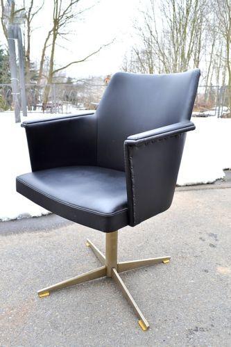 60er 70er j drehsessel nieten loungesessel cocktailsessel sessel armlehnstuhl ebay. Black Bedroom Furniture Sets. Home Design Ideas