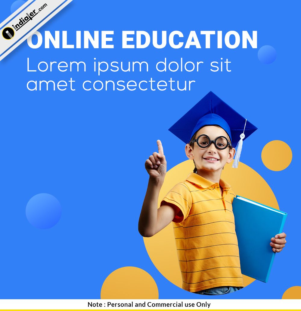 Free Online Education Social Media PSD Design Template
