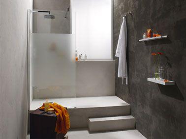10 id es de salle de bain italienne salle de bain salle - Realisation d une douche a l italienne ...