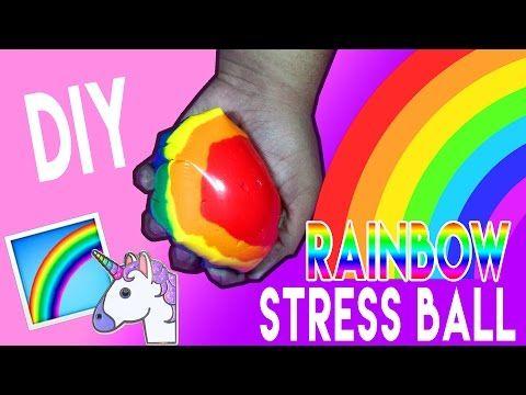 Diy Rainbow Stress Ball How To Make A Stress Ball