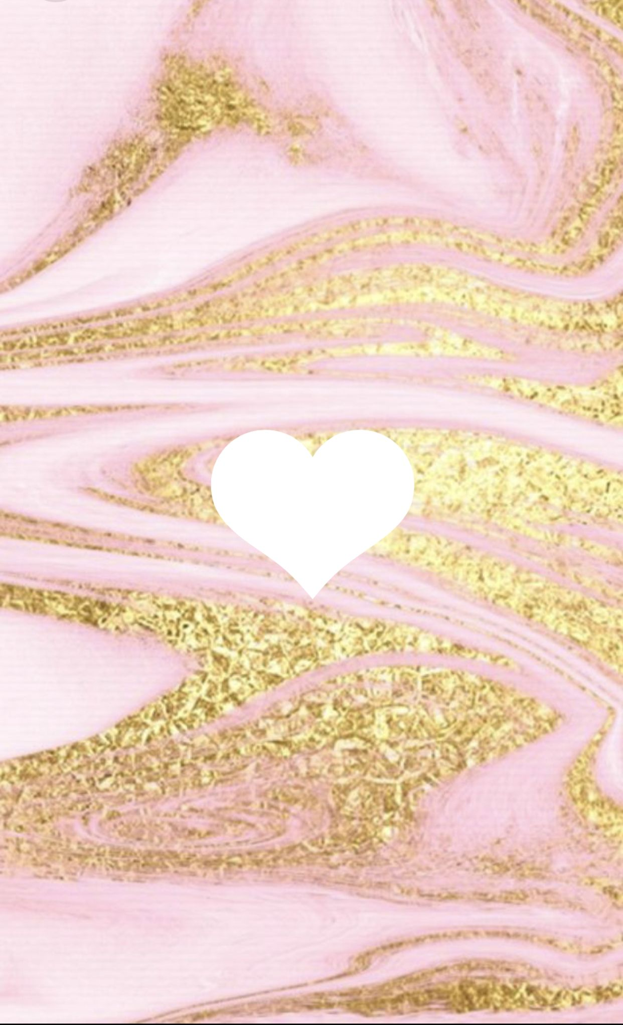 Pink And Gold Marble Swirl Instagram Highlight Cover Heart Iphone Wallpaper Pink Instagram Instagram Highlight Icons