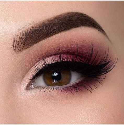¿Qué color de delineador utilizo en el Maquillaje para ojos oscuro?