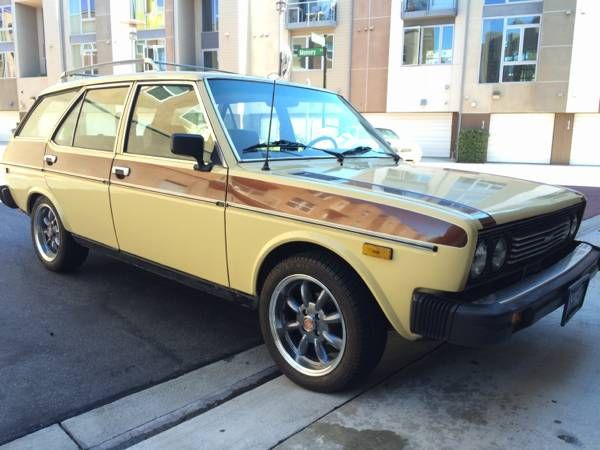 Rare Familiare Largely Original 1978 Fiat 131 Wagon With Images