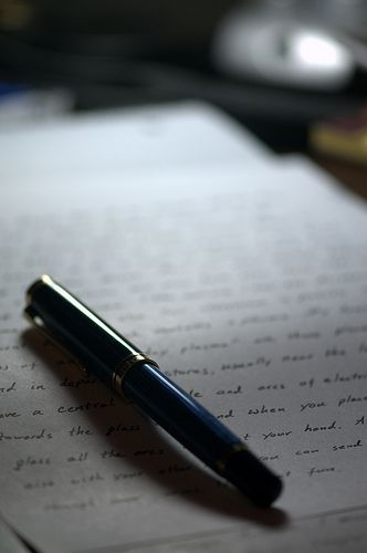 The Last Letter:  A Poem