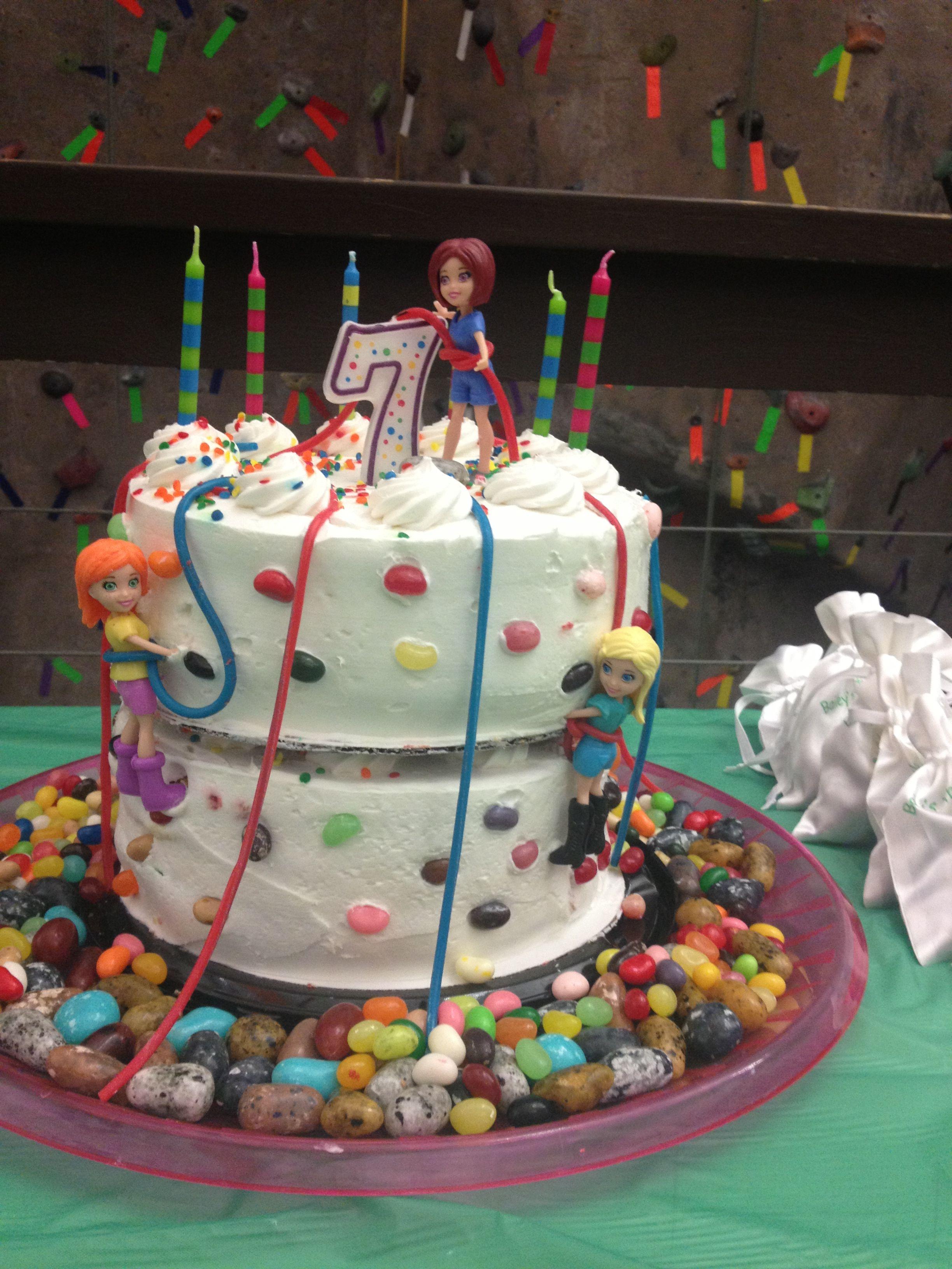 Rock Climbing Birthday Cake Cakes