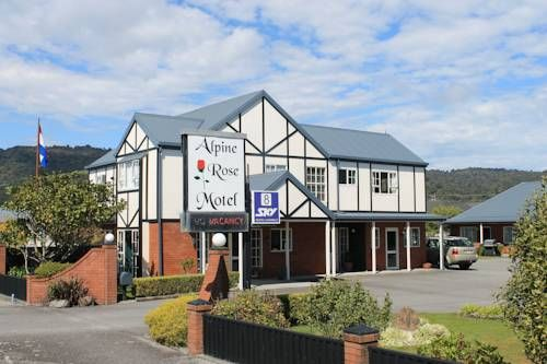 Alpine Rose Motel Greymouth Boasting rooms with free Wi-Fi, a flat-screen TV with 50 or more satellite channels and cooking facilities, Alpine Rose Motel is a 3-minute drive from Greymouth town centre. Guests enjoy access to BBQ facilities and a children's playground.