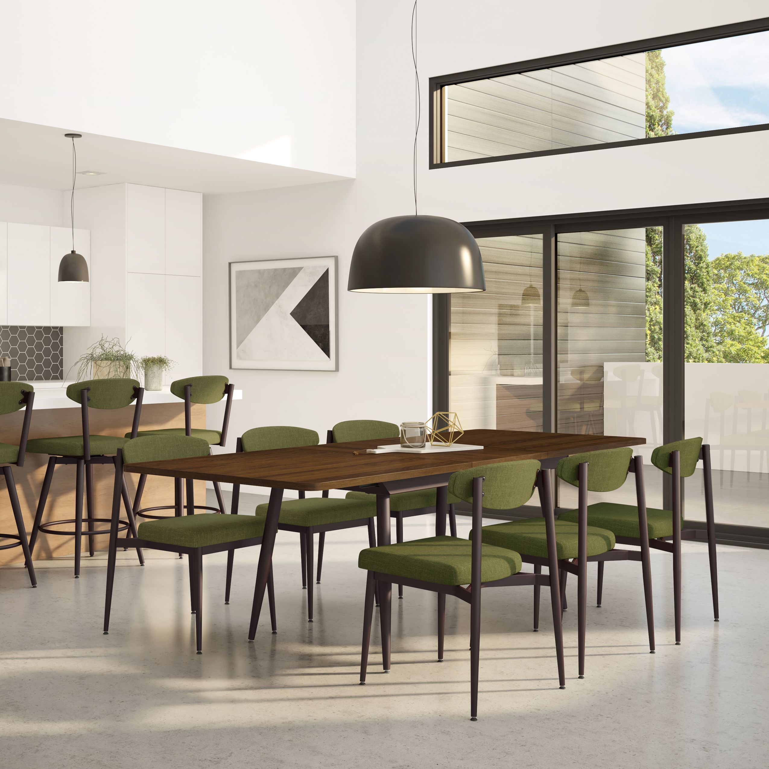 Amisco Wilbur Chair 30570 Furniture Kitchen Nordic Collection Scandinave Chair Contemporary