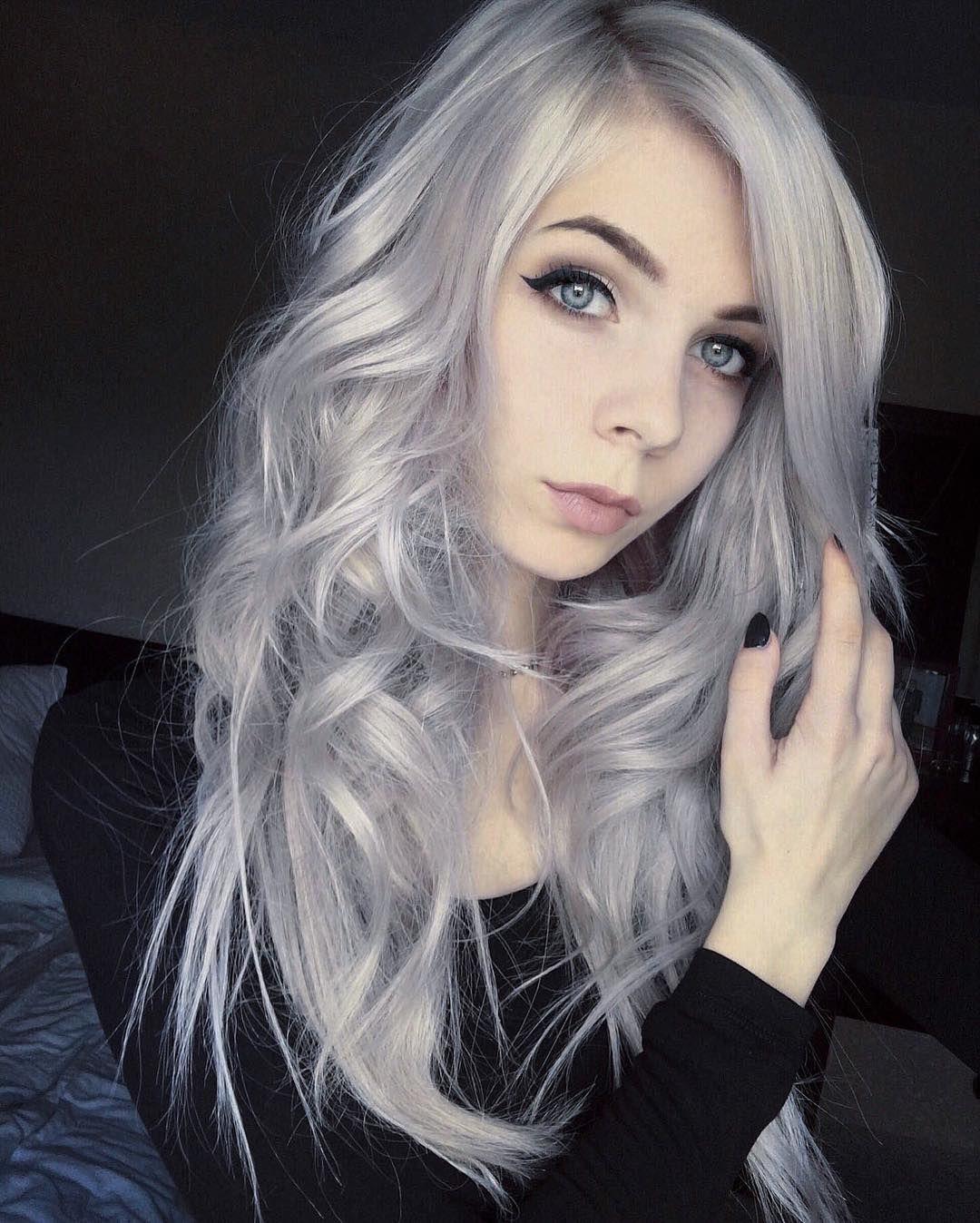 28 Inspiring Silver Hair Color ideas ???? | Hair | Pinterest | Hair ...
