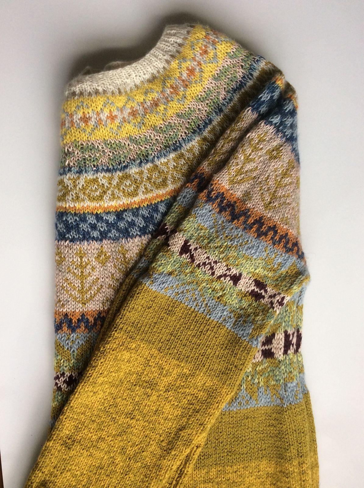7d4a312dd99c FREE knitting pattern! Kids  sweater