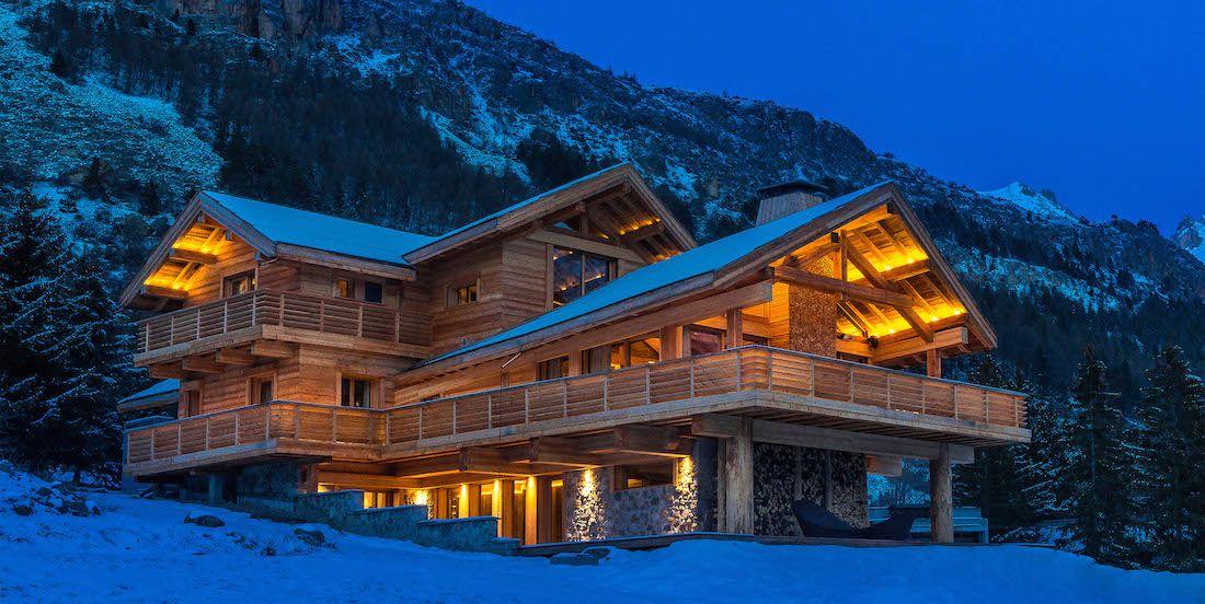 chalet prestige chalet hiver neige winter snow ski. Black Bedroom Furniture Sets. Home Design Ideas