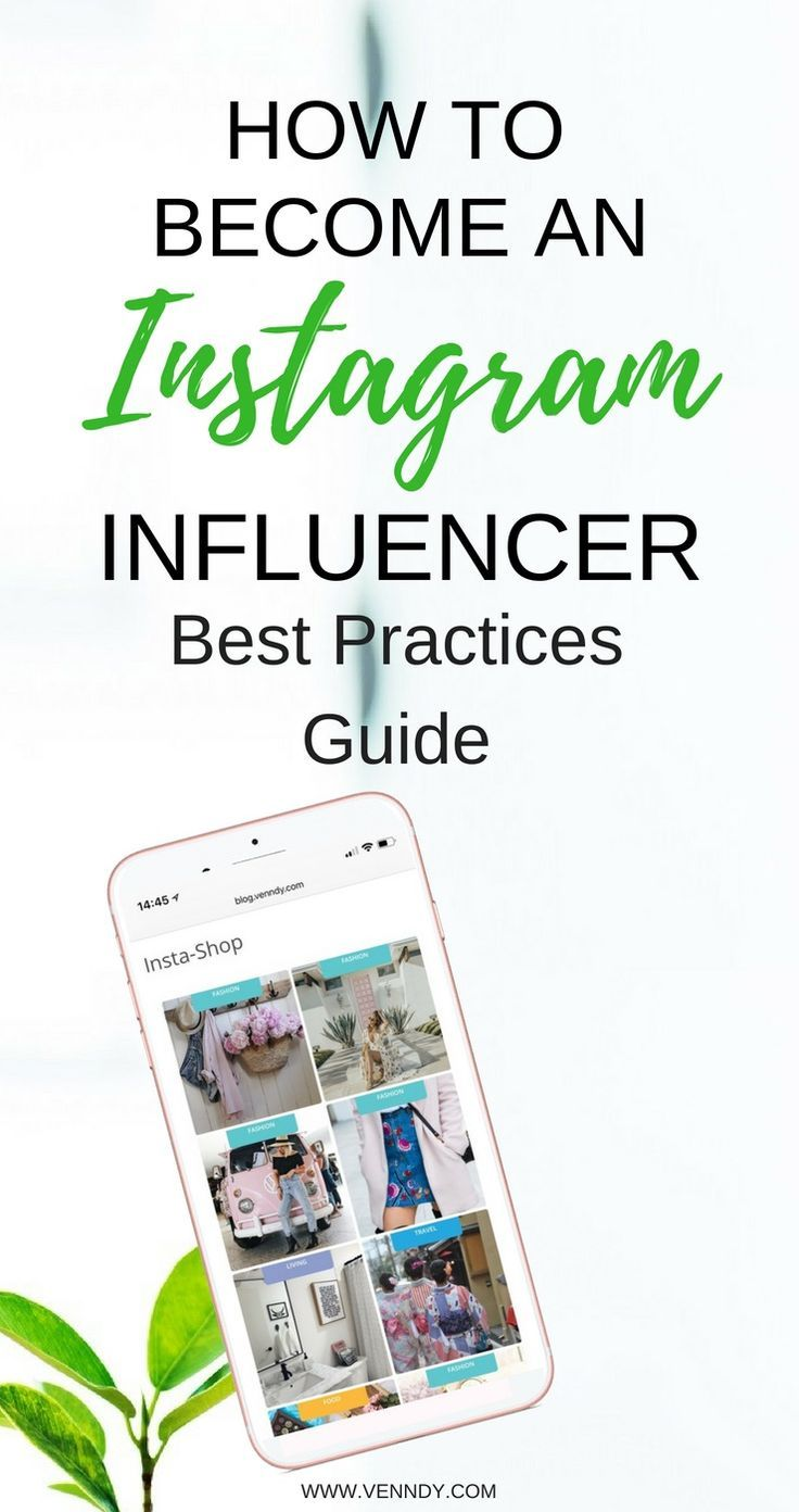 Learn how to an Instagram Influencer and start