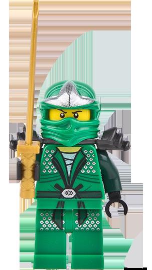 LEGO LLOYD ZX NINJAGO GREEN NINJA MINIFIG MINIFIGURE NEW WITH SWORDS MORE