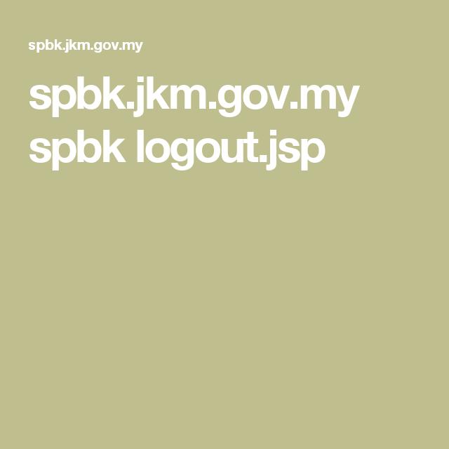 Spbk Jkm Gov My Spbk Logout Jsp Logout Governor Lockscreen