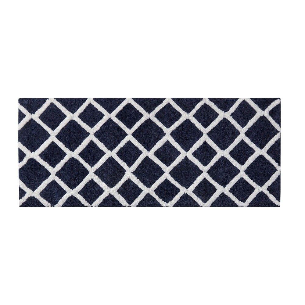 28 X54 6pc Parker Luxury Stripe Cotton Bath Towel Blue Navy