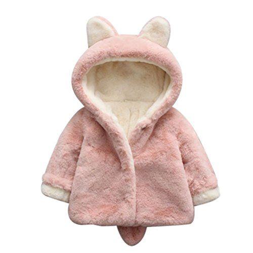 85a0f26a2 Zhuhaitf Kids Unisex Faux Fur Warm Winter Shawl Cloak Hoodies Coat ...